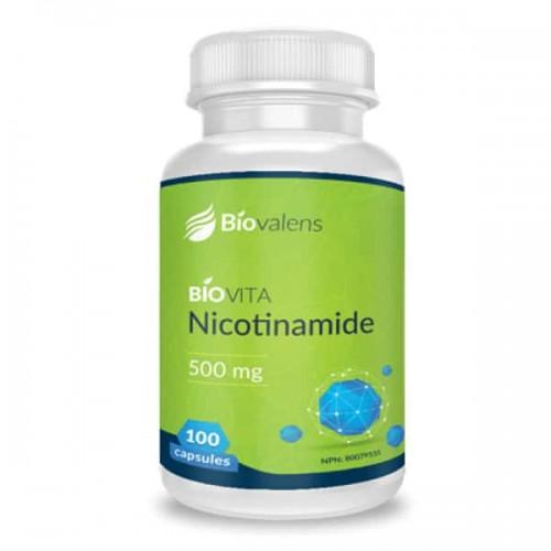 NICOTINAMIDE 500 mg (100 capsules)